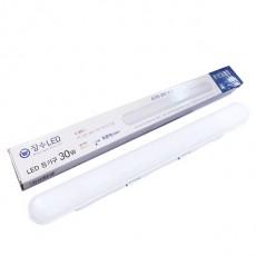 장수 LED 일자형 등기구 30w