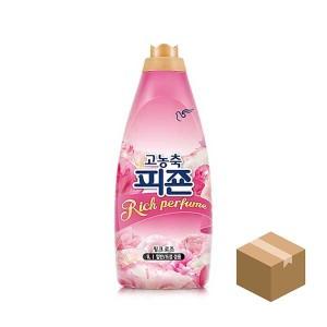피죤 1L 고농축 섬유유연제 핑크로즈