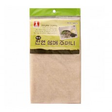 천연 삼베 주머니(특대) 35x50 1P