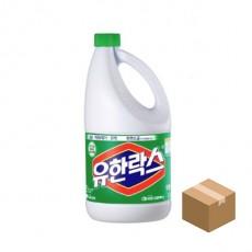 유한락스 후레쉬 2L x 6개 BOX 청소 세정제 소독