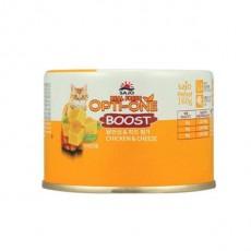 옵티원 부스트 캔 닭안심n치즈 고양이 캔 사료 160g