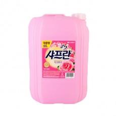 샤프란 섬유유연제 핑크 대용량 업소용 20L