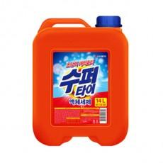 수퍼타이 액체세제 대용량 업소용 14L