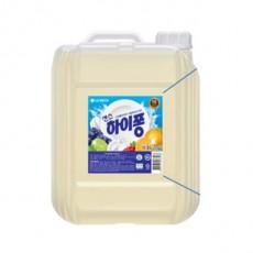 LG 하이퐁 주방세제 대용량 업소용 12kg
