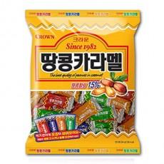 크라운 땅콩카라멜 324g